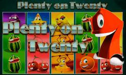 plenty on twenty novomatic slot oyunu