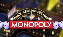 monopoly once around deluxe slot logo