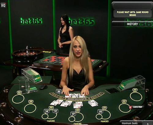 Real Money & Live Dealer Blackjack