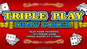 triple play draw poker 1