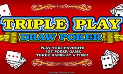 triple play draw poker 1