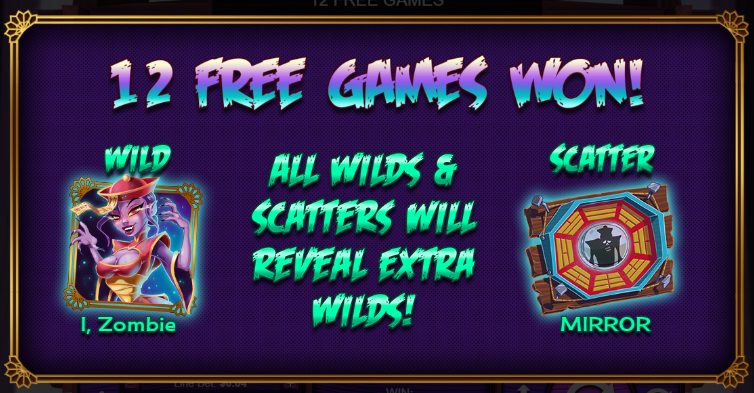 I, Zombie slots free games