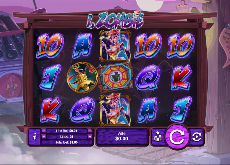 I, Zombie main slots game play