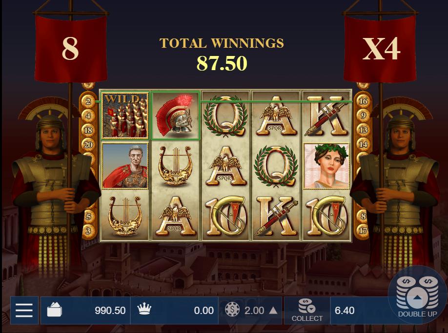 Caesar's Triumph Free Spins Game
