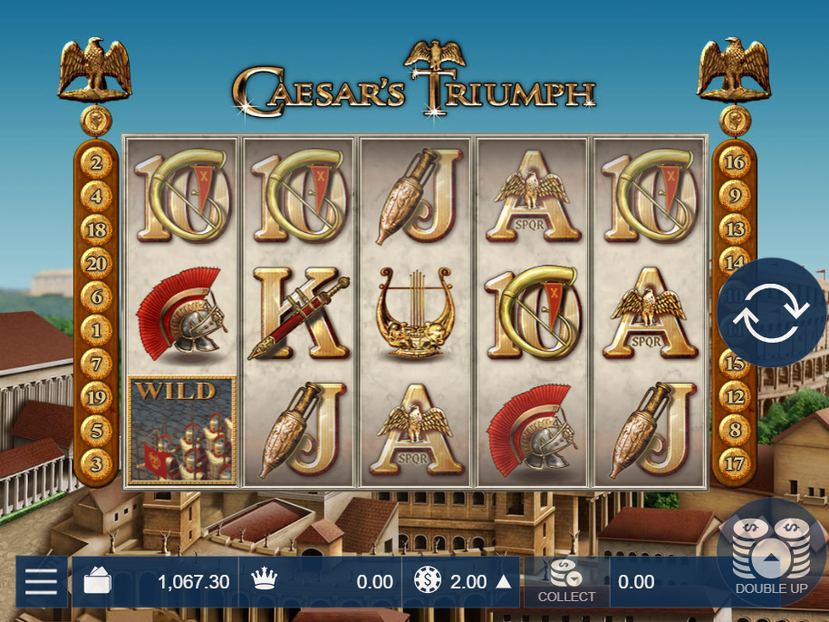 Caesar's Triumph Main Game