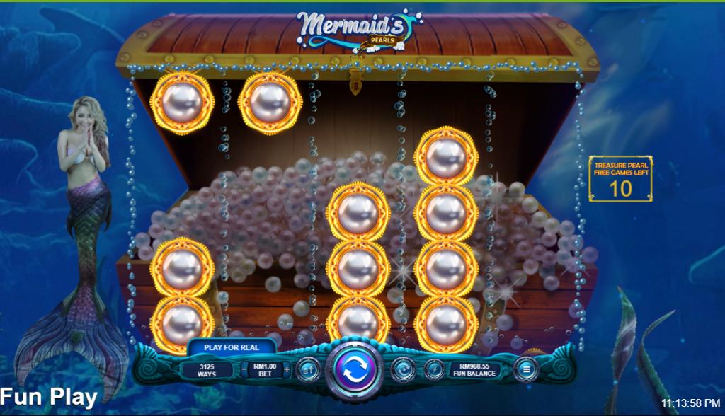 Mermaid's Pearls Free Games