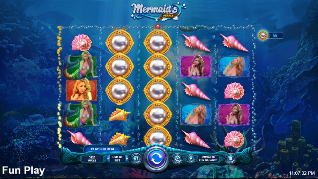 Mermaids Pearls Main Game