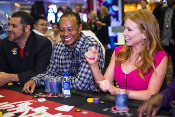 Tiger Wood Gambling