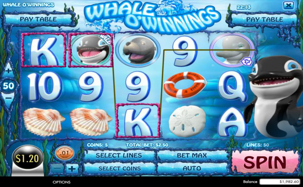 Whale O' Winnings Winner