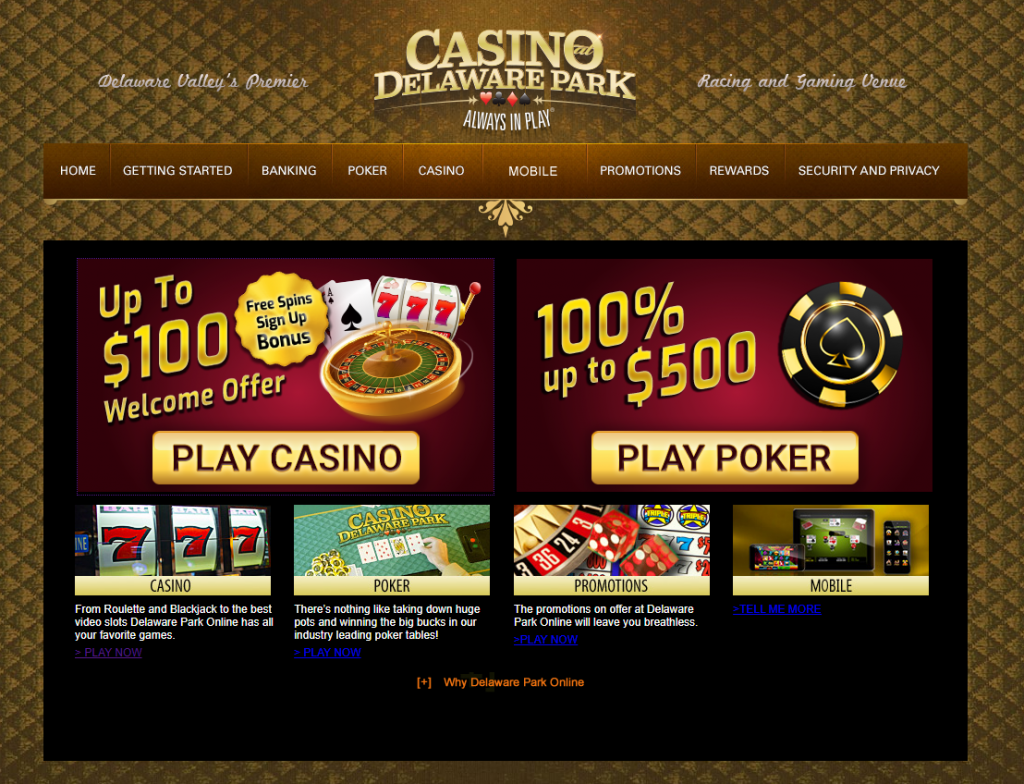 Delaware Park Online Casino