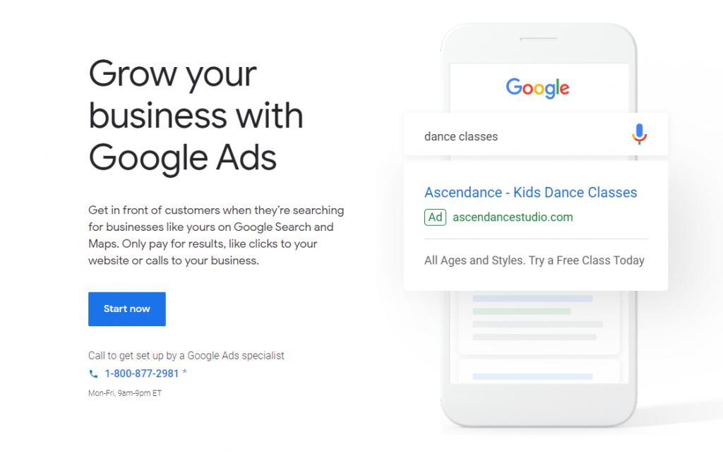 Google Ads Online Gambling