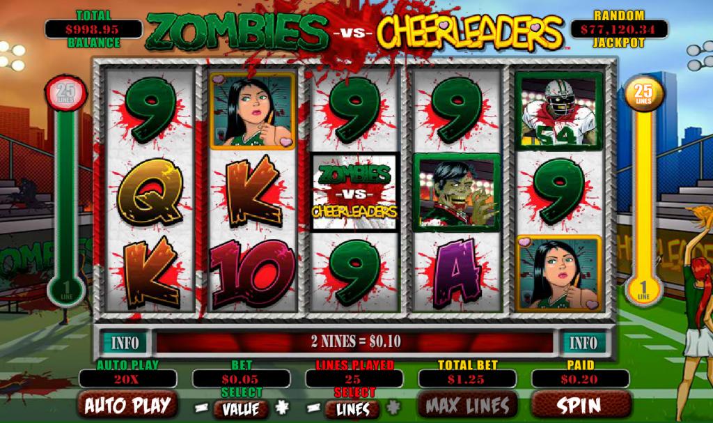 Zombies vs. Cheerleaders Main Game
