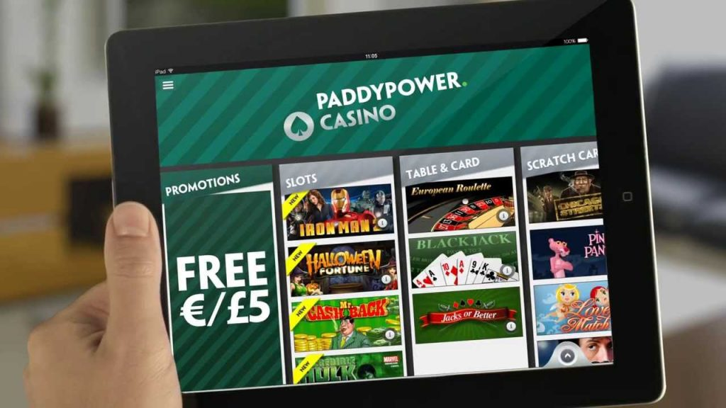 Paddy Power UK online casinos