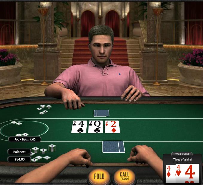 Poker3 Heads-Up Hold'em Pair