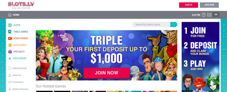 Slots.LV Bonus Offer