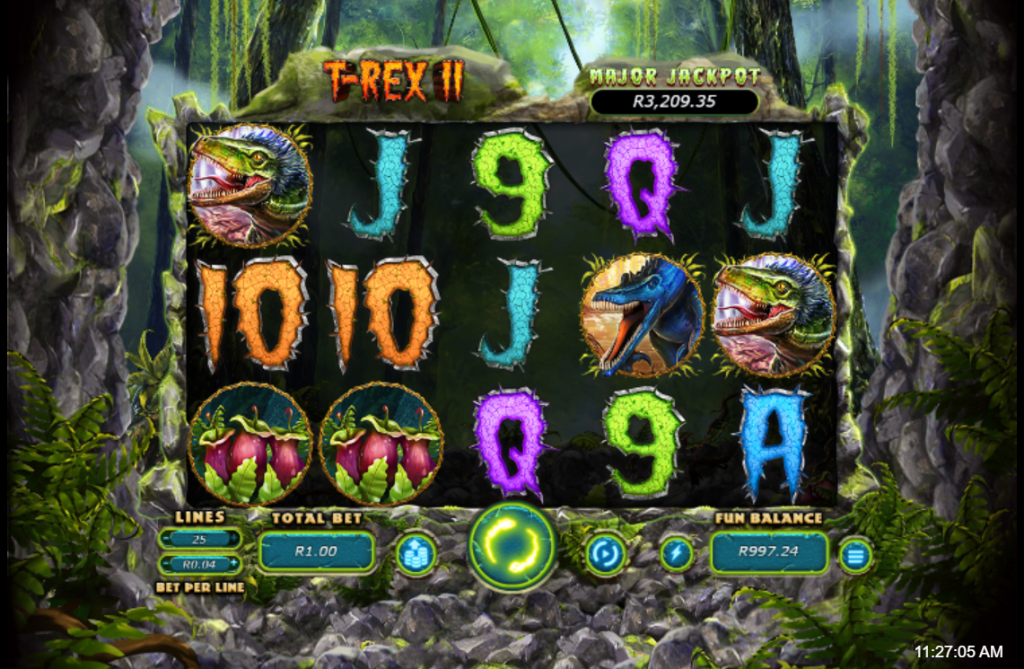 T-Rex II Main Game
