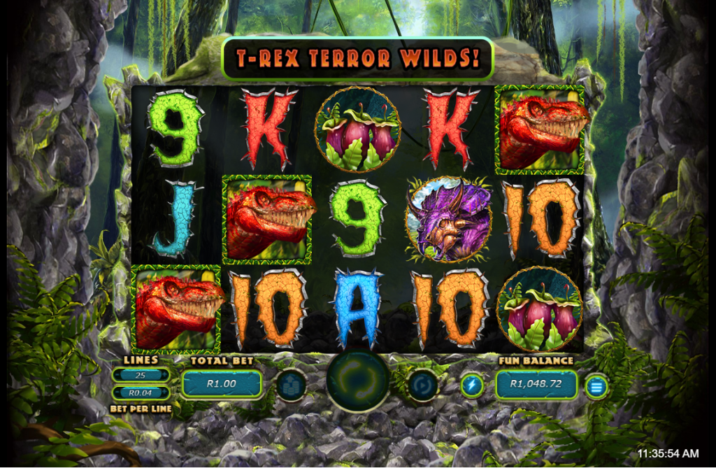 T-Rex II Terror Wilds
