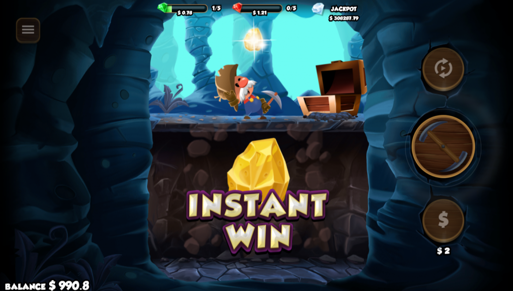 Gold Rush Gus Instant Win