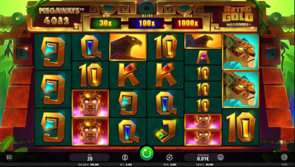 Aztec Gold Megaways Main Game