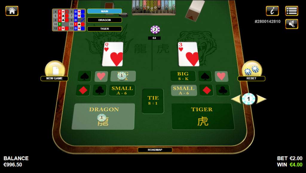 Dragon Tiger Win and Side Bet Win - Best Online Casinos