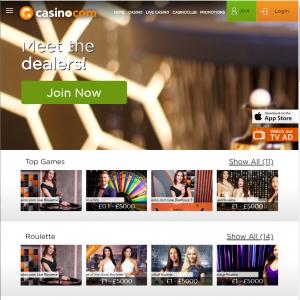 casino.com live dealer