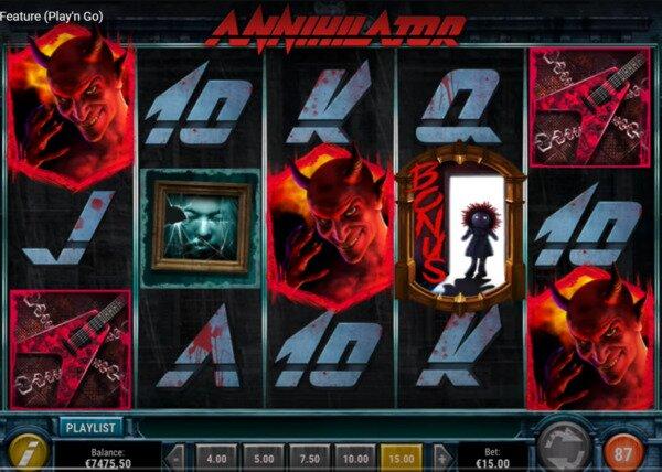 Annihilator Slots Play'n Go - Casino.com Slots