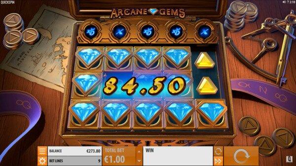 Arcane Gems Slots Quickspin