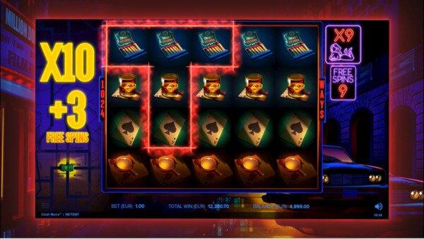 Cash Noire Slot Screen