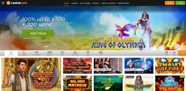 Casino.com Bonuses & Promotions