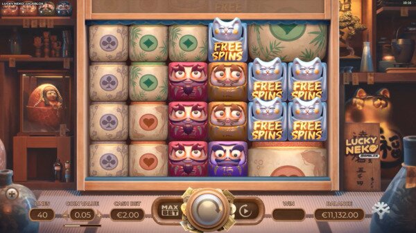 Lucky Neko Slots Yggdrasil 888