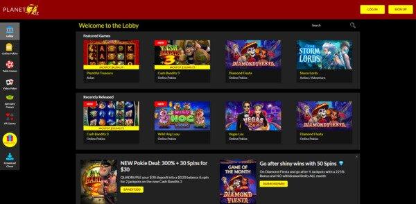 Planet 7 Oz Casino Games