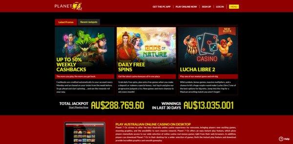 Planet 7 Oz Promotions