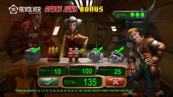 Space Traders Slots Revolver Gaming