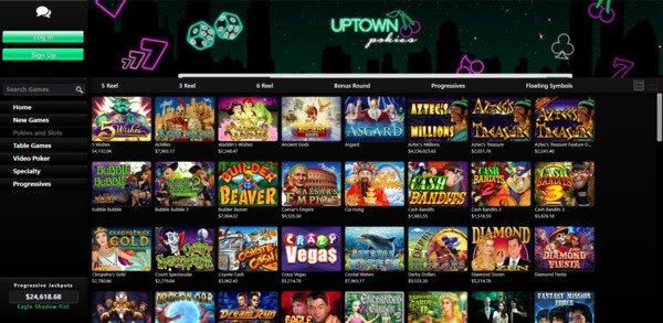 Uptown Pokies and Slots