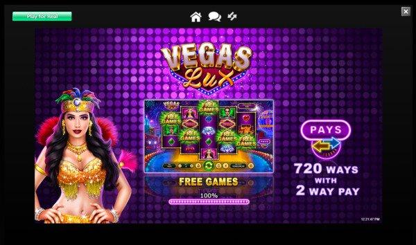 Vegas Lux Pokies